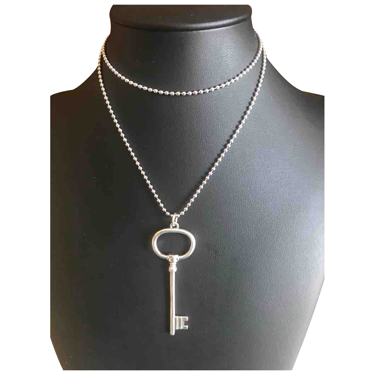 Non Signe / Unsigned \N Kette in  Silber Silber