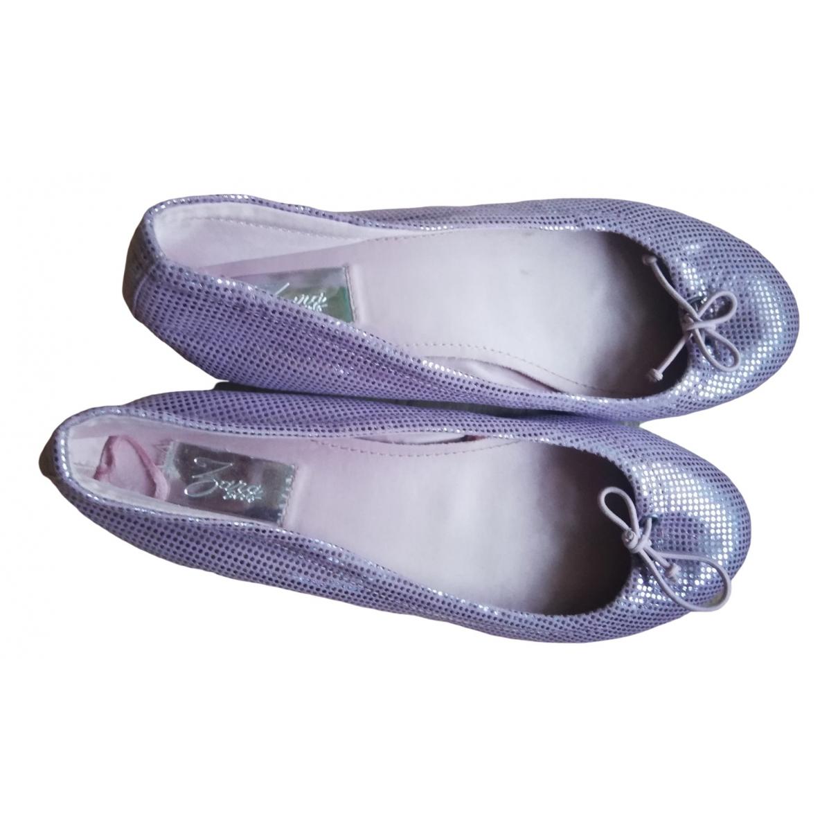 Zara - Ballerines   pour enfant en autre - violet