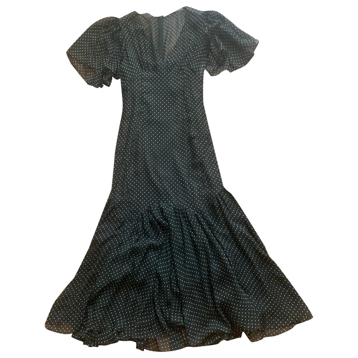 Dolce & Gabbana \N Kleid in  Grau Seide