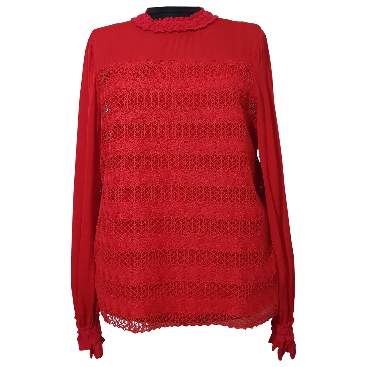 Maje \N Red  top for Women L International