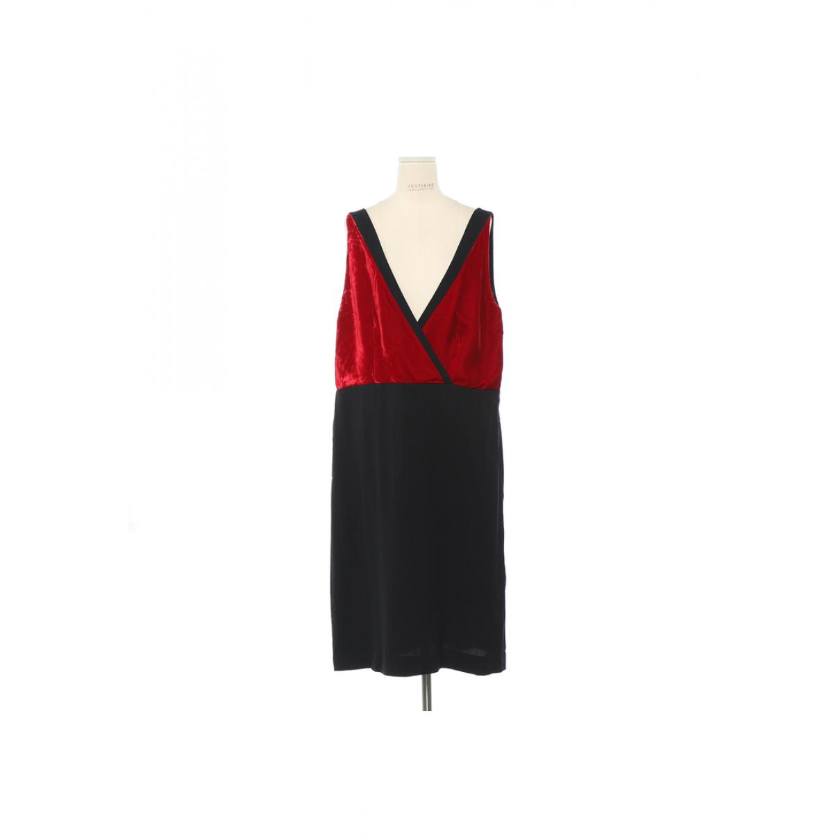 Prada \N Kleid in  Schwarz Viskose