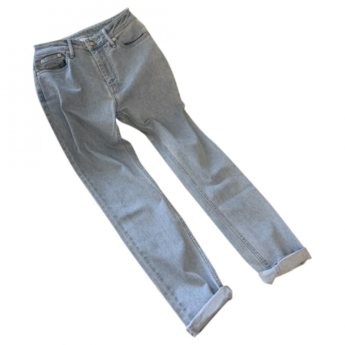 Burberry \N Blue Cotton Jeans for Women 28 US