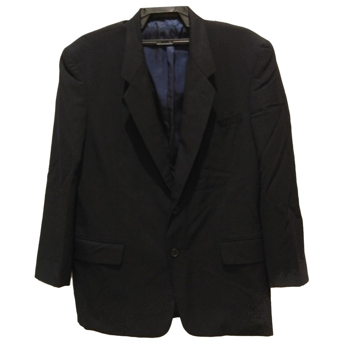 Yohji Yamamoto \N Black Wool jacket  for Men S International
