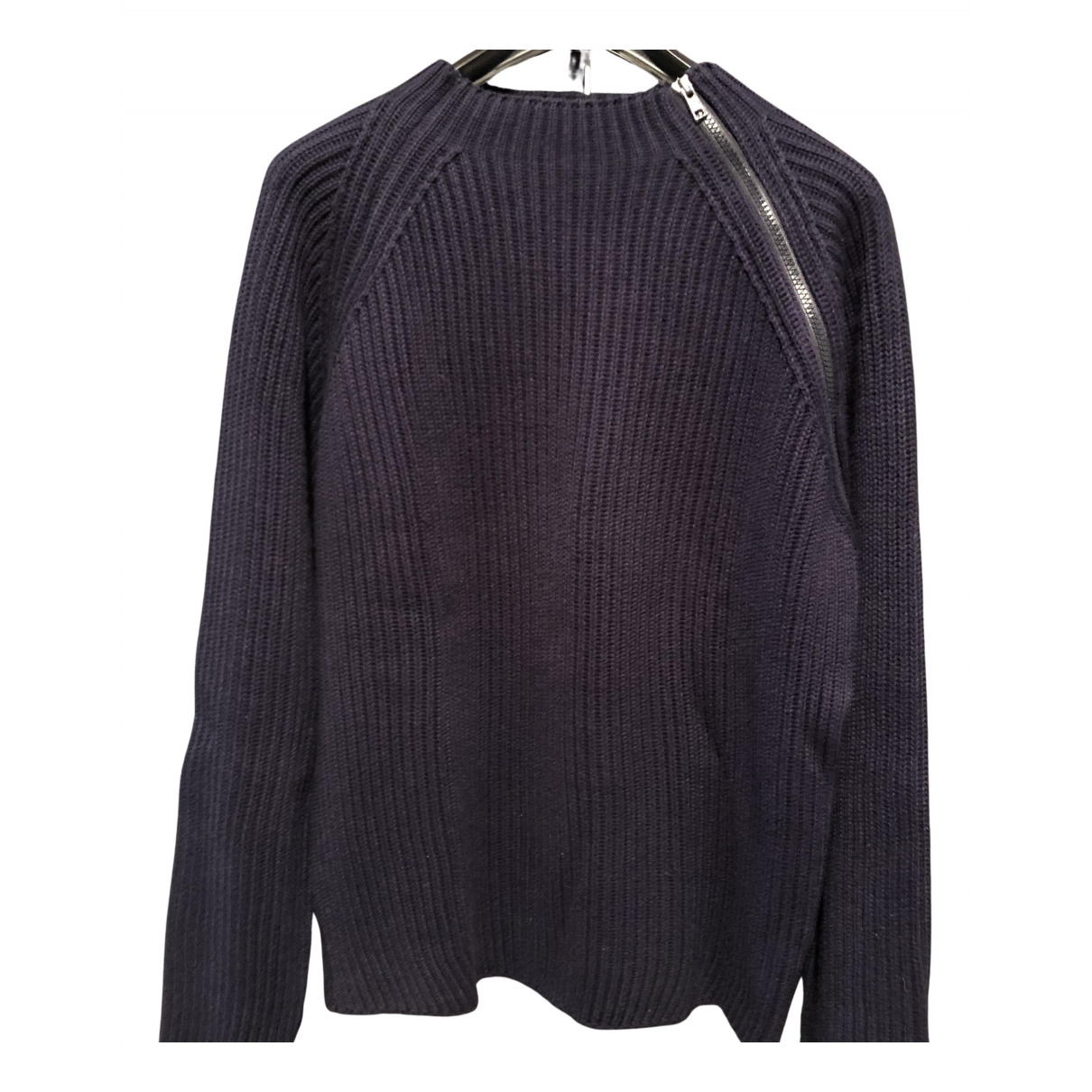 Daniele Alessandrini \N Pullover.Westen.Sweatshirts  in  Blau Baumwolle