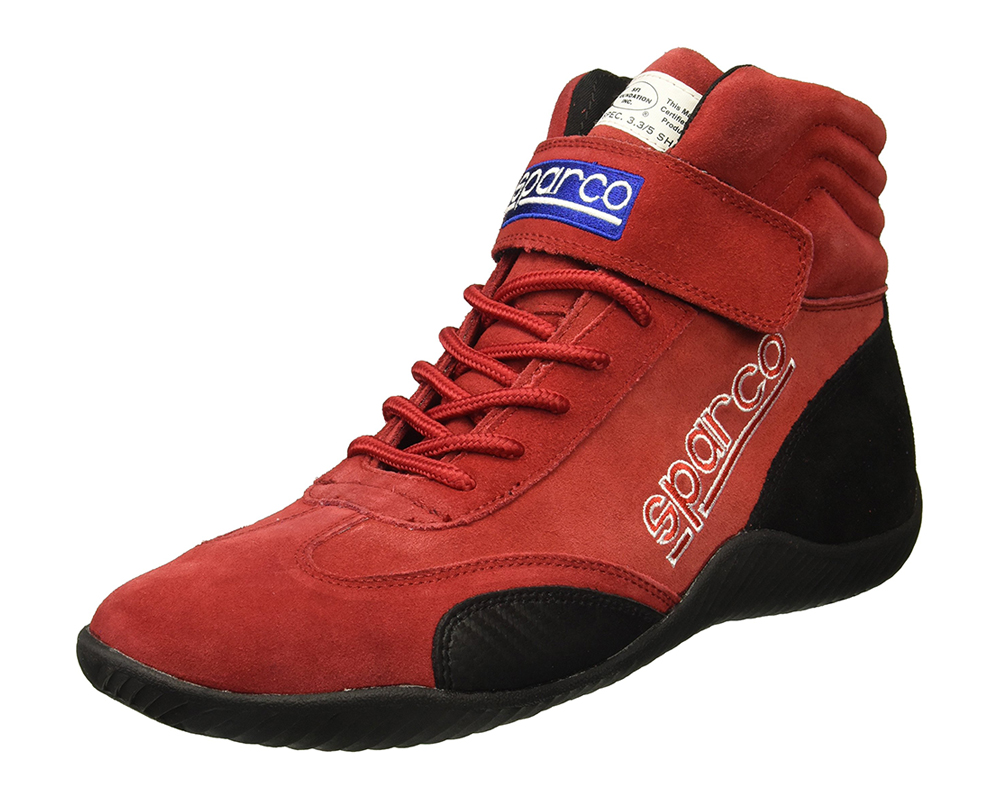 Sparco 00127125R Red Race Driving Shoes EU 46 | US 12.5