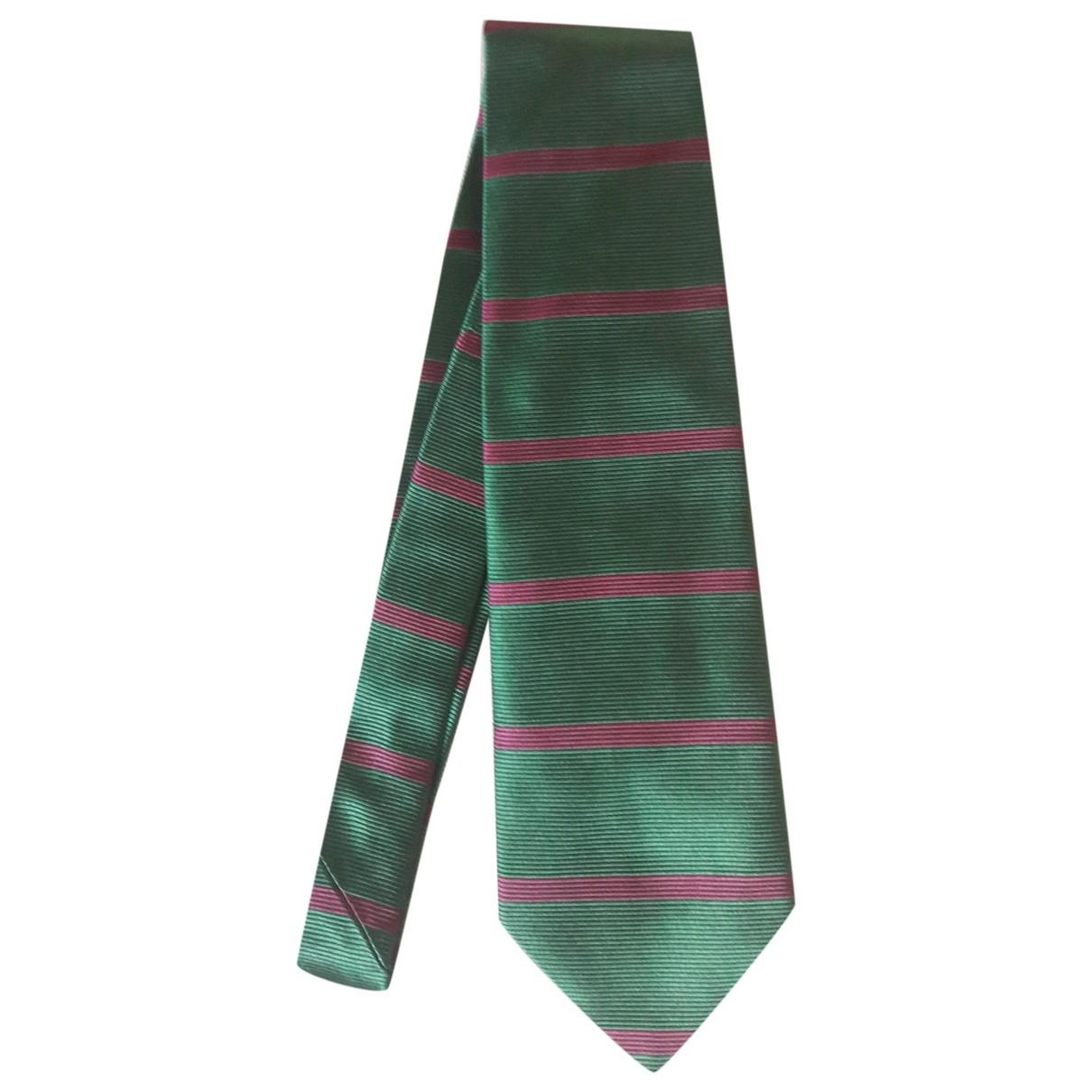 La Perla \N Krawatten in  Gruen Seide