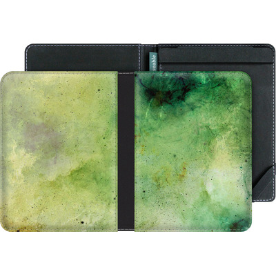 tolino vision 4 HD eBook Reader Huelle - Abstract Galaxy - Green von Barruf