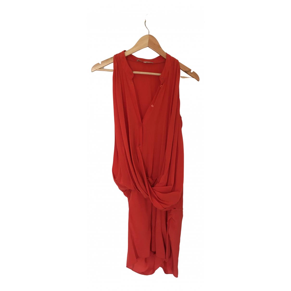Vanessa Bruno N Orange Silk jumpsuit for Women 36 FR