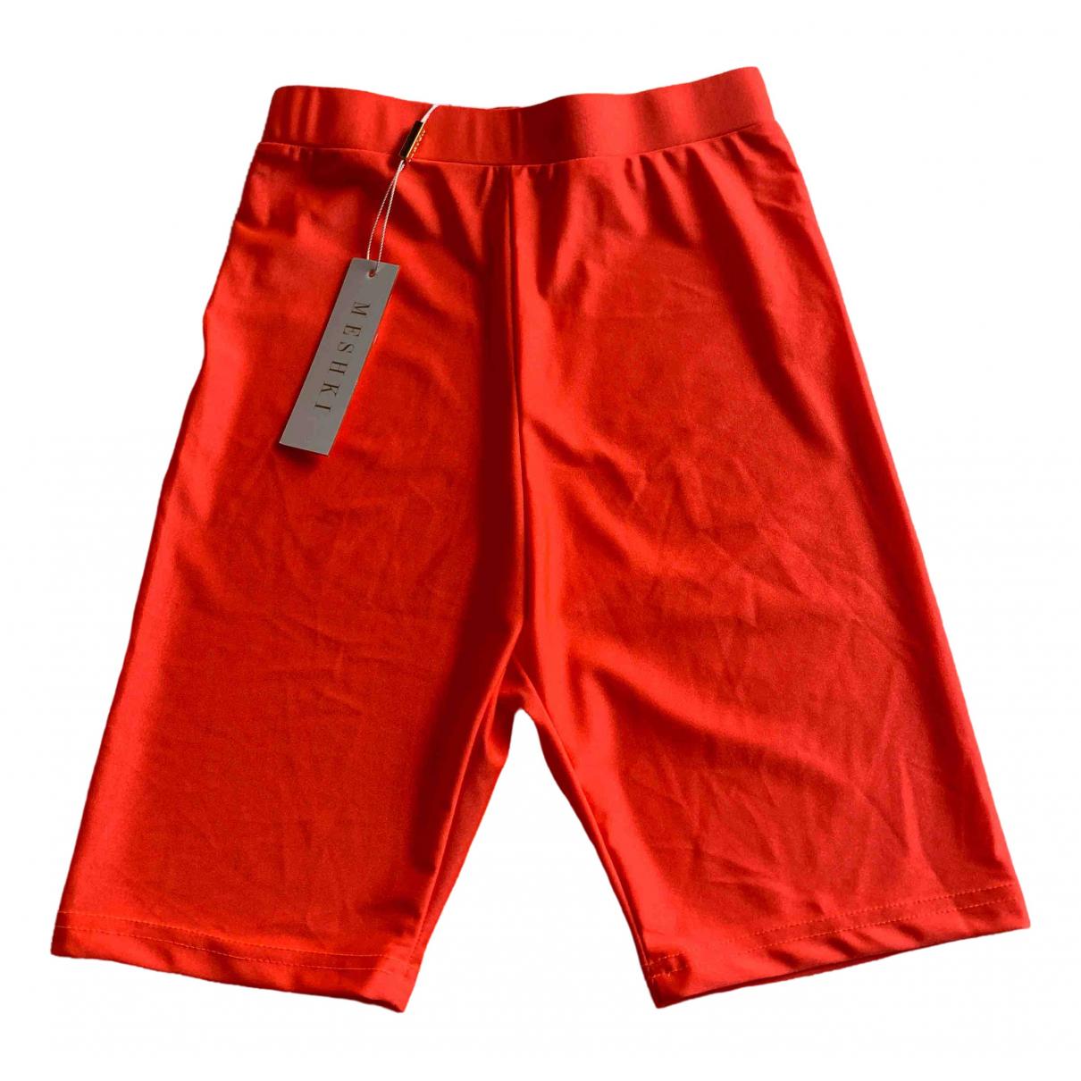Meshki \N Shorts in Synthetik