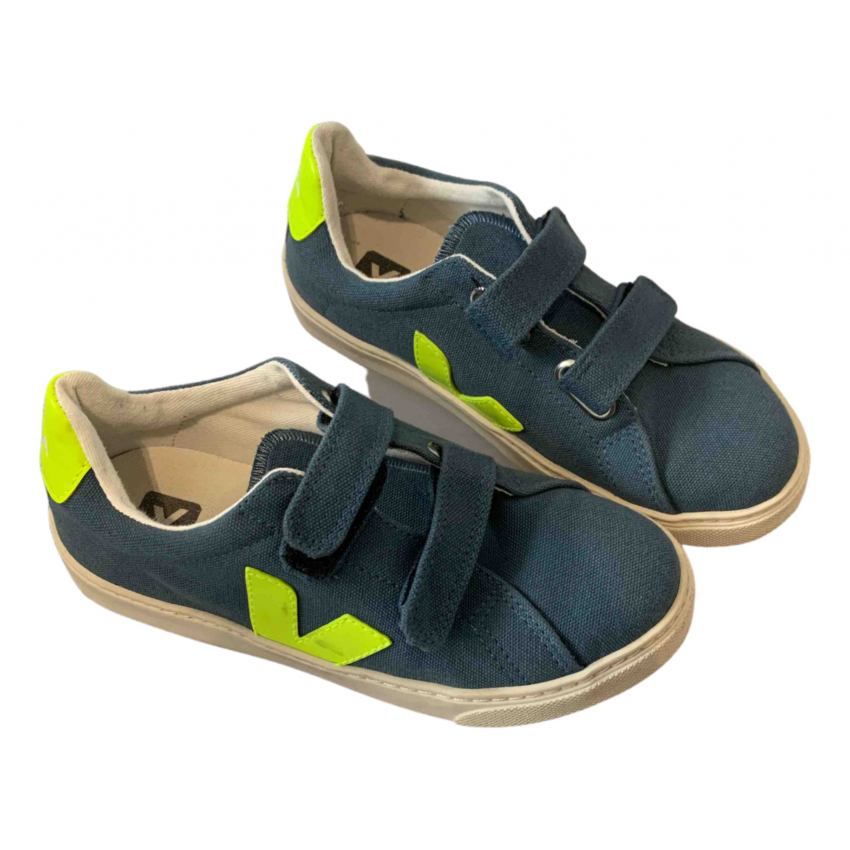 Veja \N Sneakers in  Blau Leinen