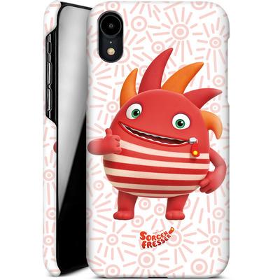 Apple iPhone XR Smartphone Huelle - Sorgenfresser Flamm von Sorgenfresser