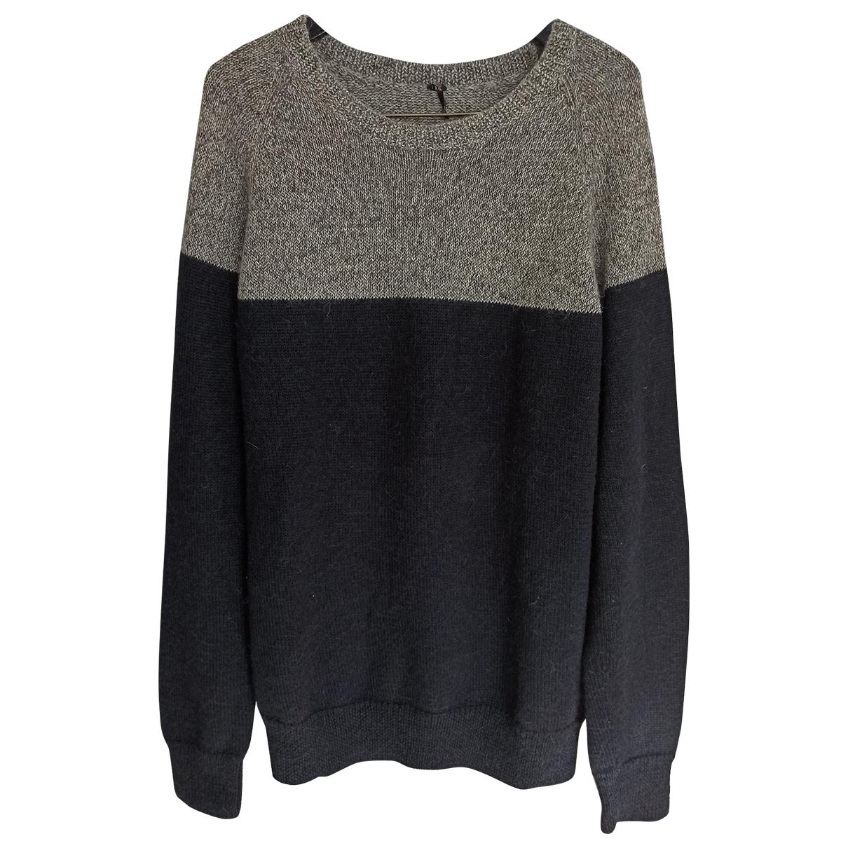 Iro \N Pullover.Westen.Sweatshirts  in  Schwarz Wolle
