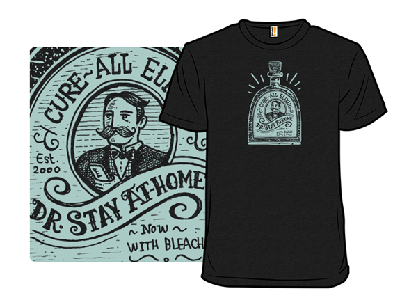 Dr Stay At-home T Shirt