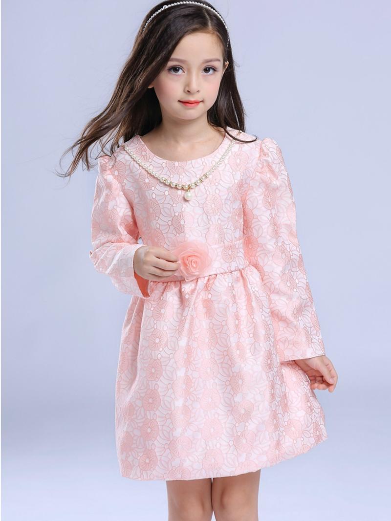 Ericdress Lace Necklace Princess Girls Dress