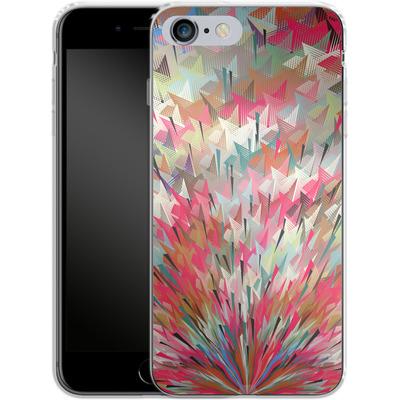 Apple iPhone 6 Plus Silikon Handyhuelle - Black Pigment Explosion von Danny Ivan