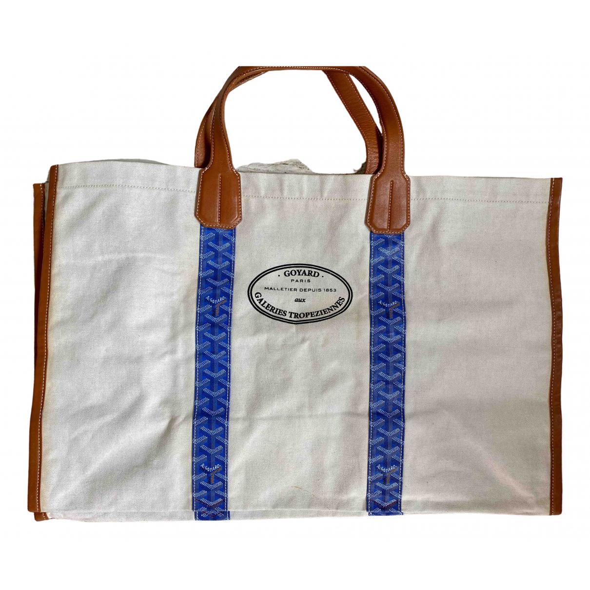 Goyard \N Blue Cloth handbag for Women \N