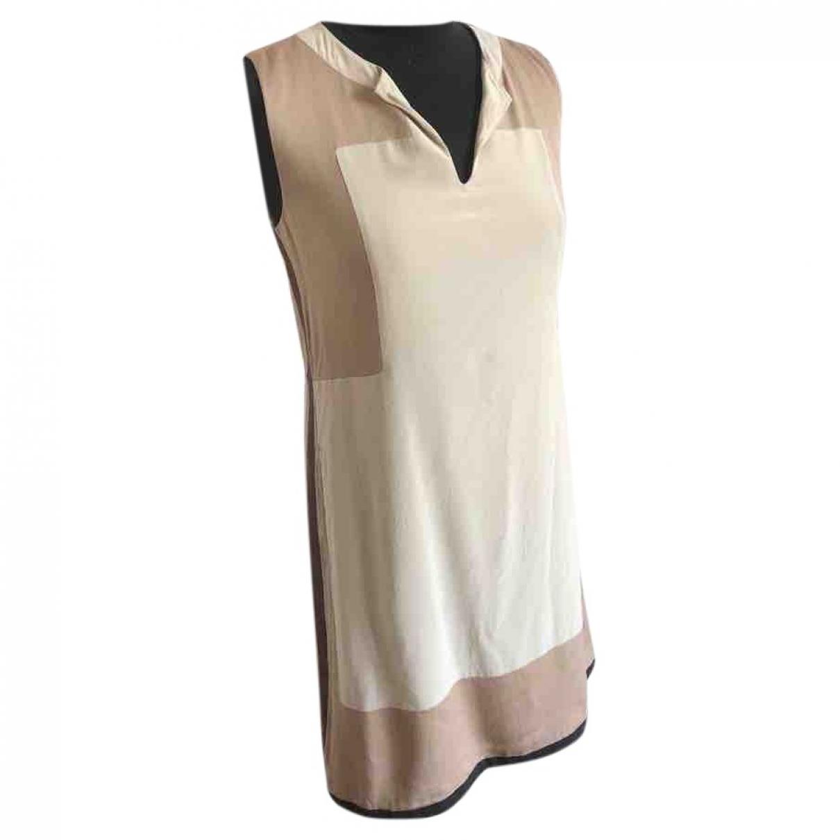 Loro Piana - Robe   pour femme en soie - beige