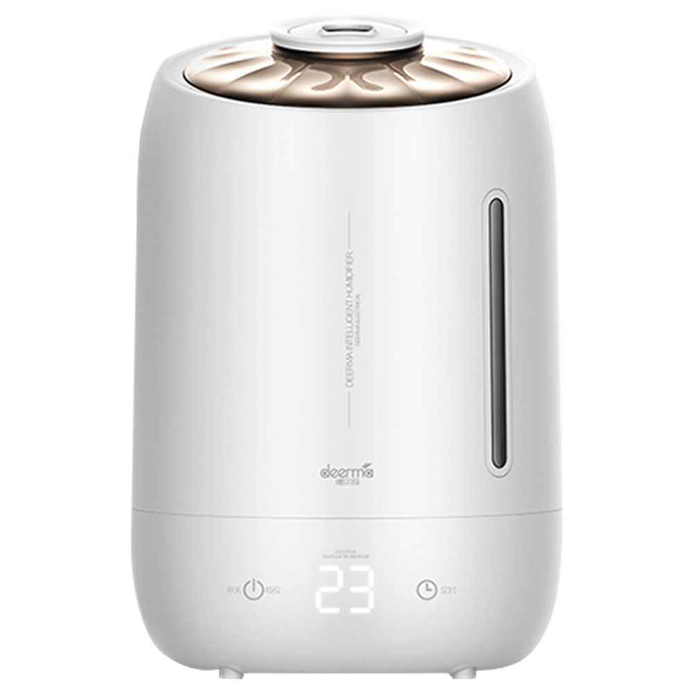 DEERMA DEM F600 Household Ultrasonic Humidifier 5L Capacity Aromatherapy Machine - White