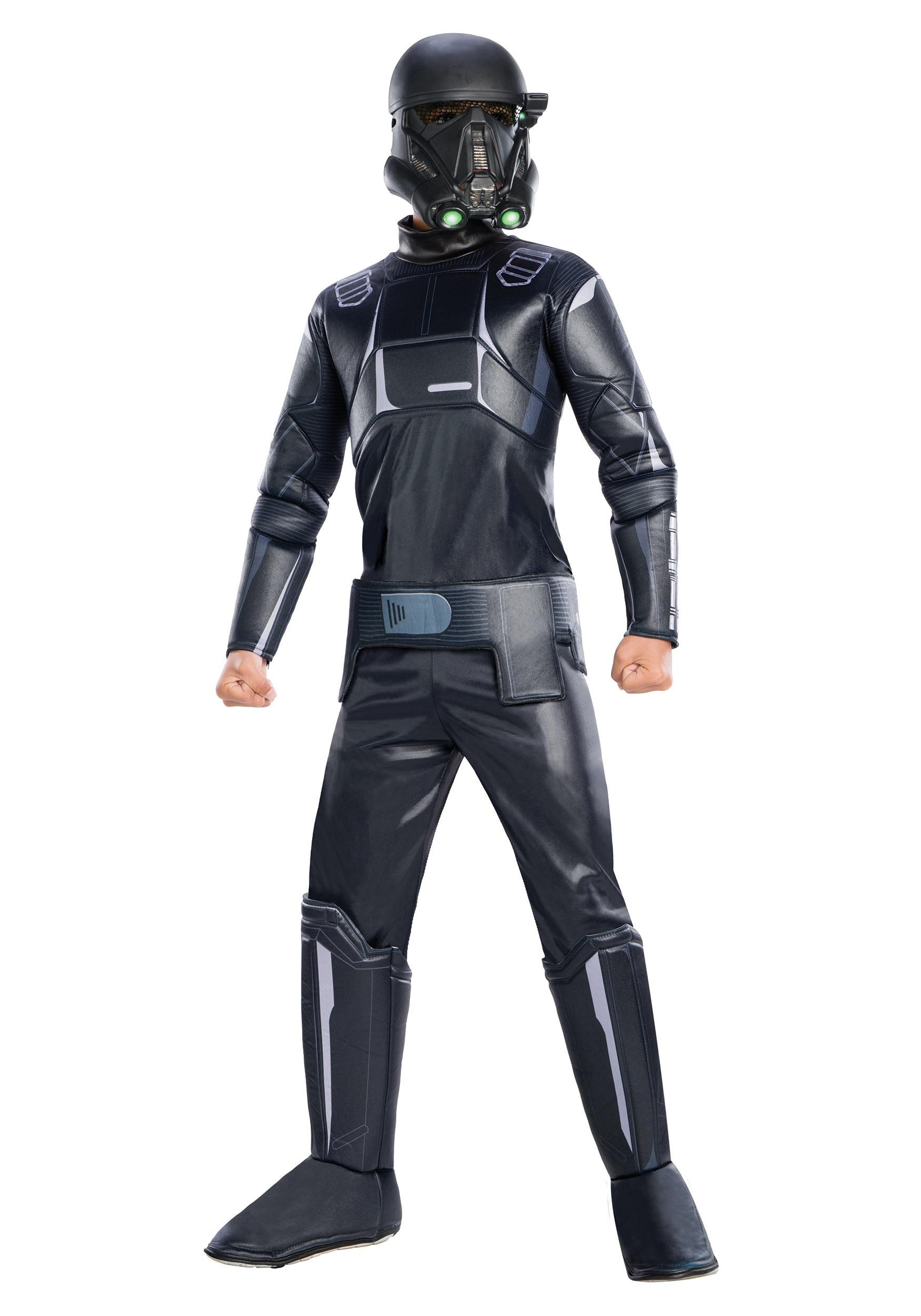 Star Wars The Mandalorian Death Trooper Costume for Boys