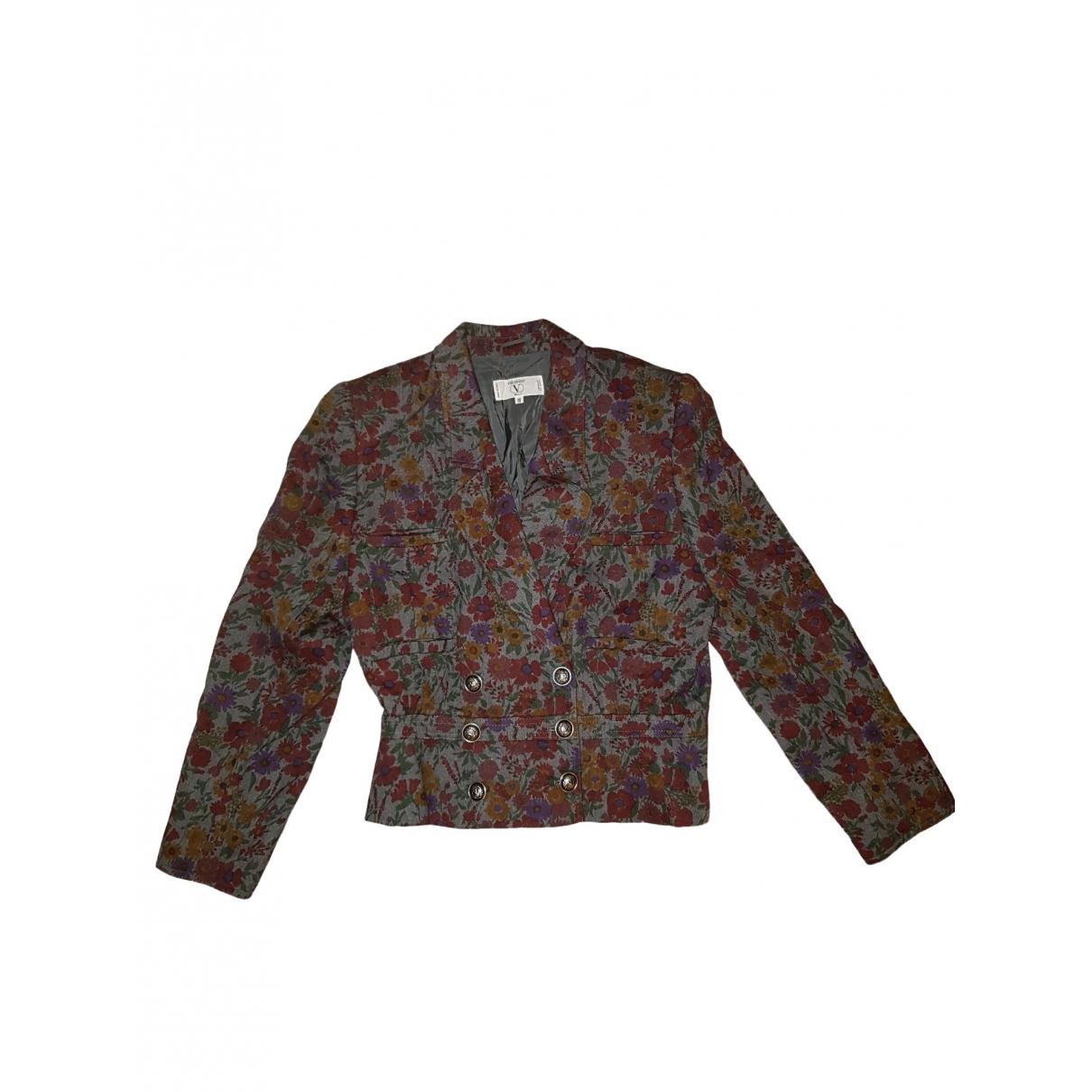 Valentino Garavani - Veste   pour femme en coton - rouge