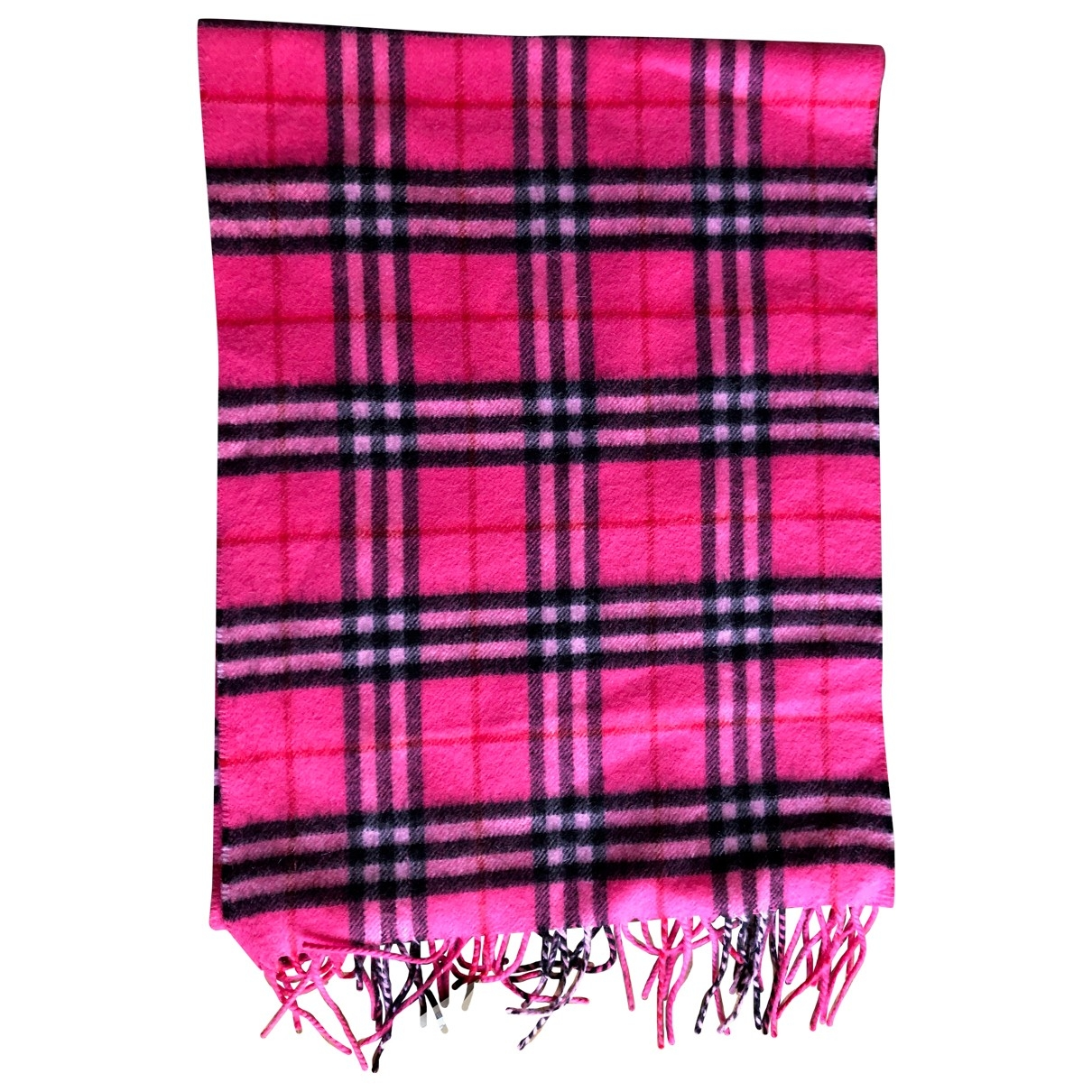 Burberry \N Pink Cashmere scarf for Women \N