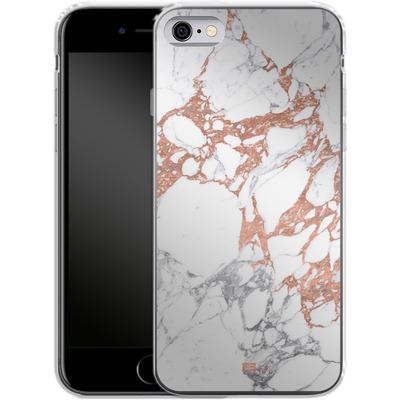 Apple iPhone 6s Silikon Handyhuelle - Marble Mix von #basic