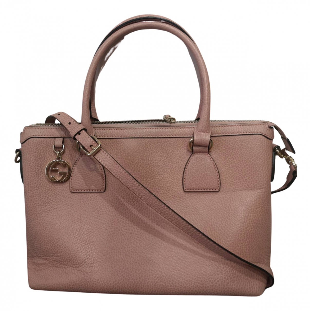 Gucci N Pink Leather handbag for Women N