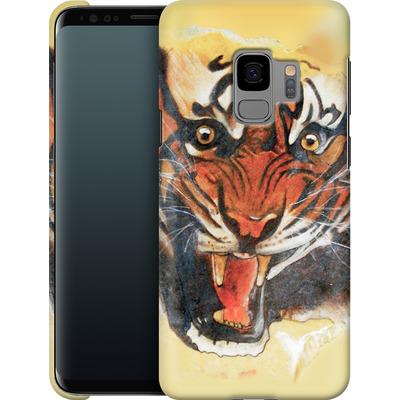 Samsung Galaxy S9 Smartphone Huelle - Tiger von Kaitlyn Parker