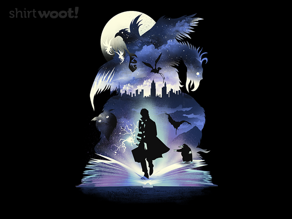 Fantastic Book Of Magic T Shirt