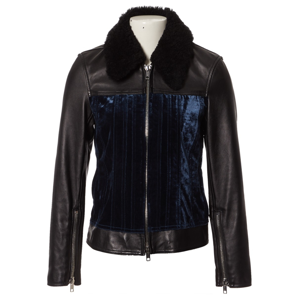 3.1 Phillip Lim \N Black Leather jacket for Women 2 US