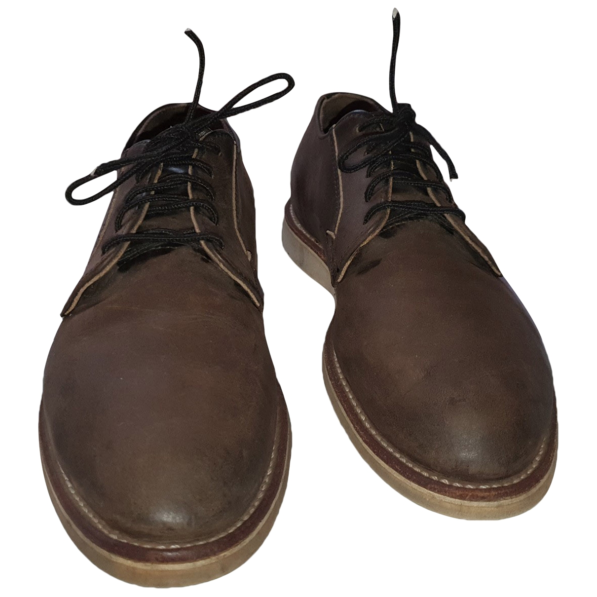 Red Wing Heritage \N Brown Leather Lace ups for Men 43 EU