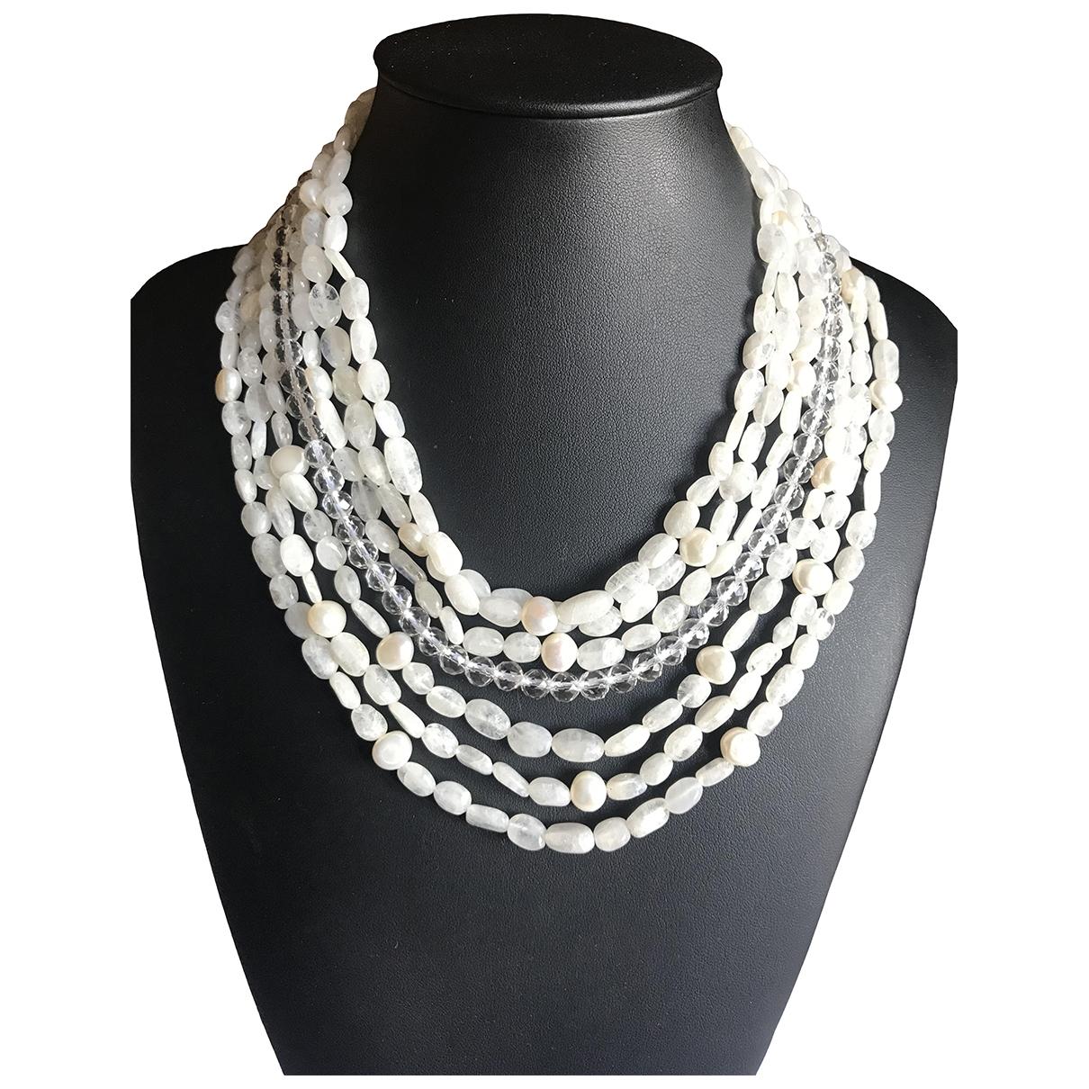 Collar Nacre de Plata Non Signe / Unsigned