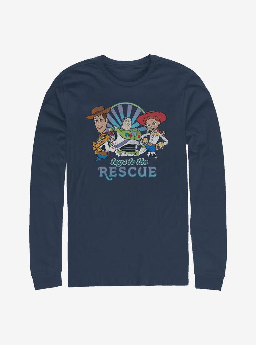 Disney Pixar Toy Story 4 Rescue Long-Sleeve T-Shirt