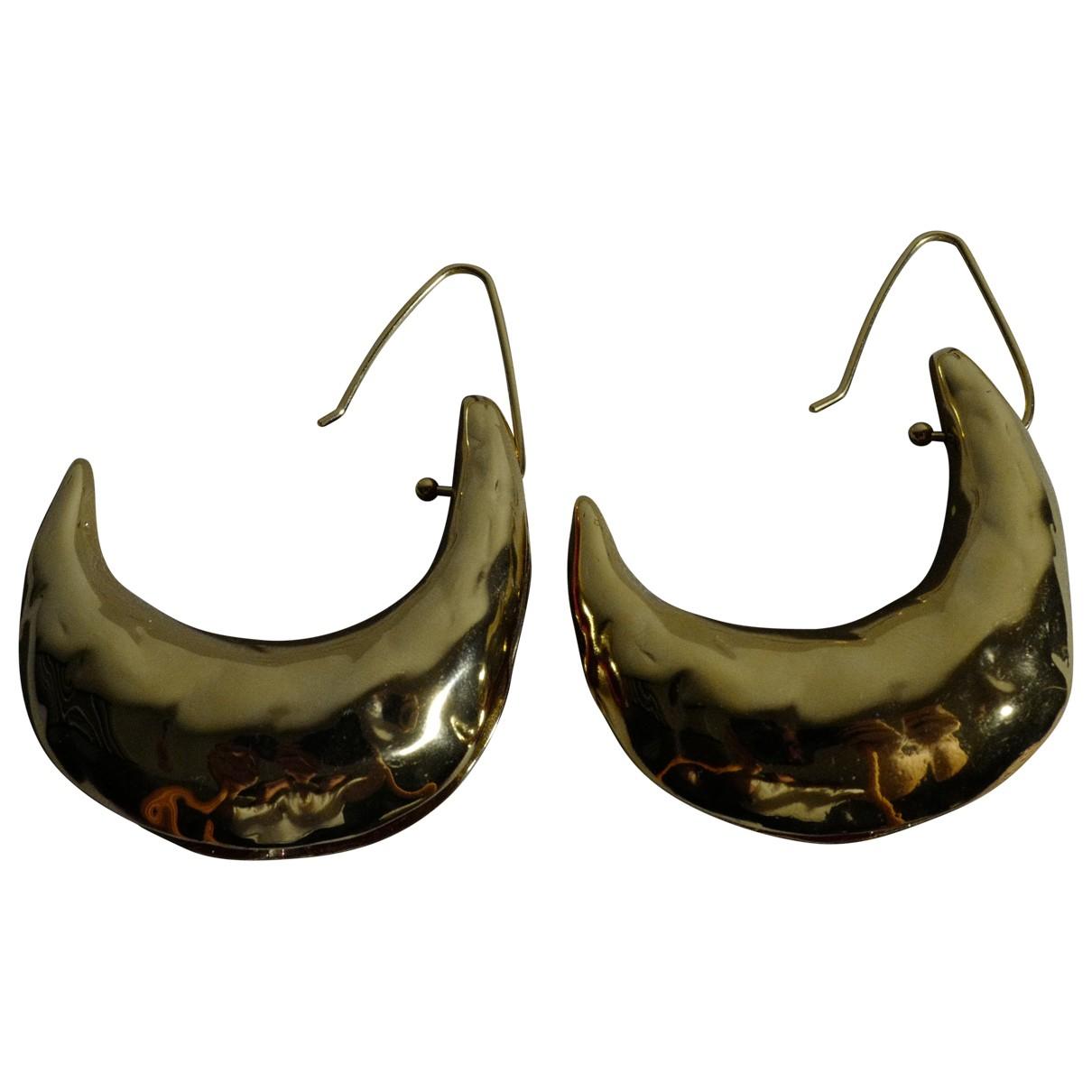 Marni - Boucles doreilles   pour femme en metal - dore