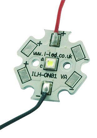 Intelligent LED Solutions ILS ILH-SO01-SIWH-SC211-WIR200., OSLON Signal PowerStar Circular LED Array, 1 White LED