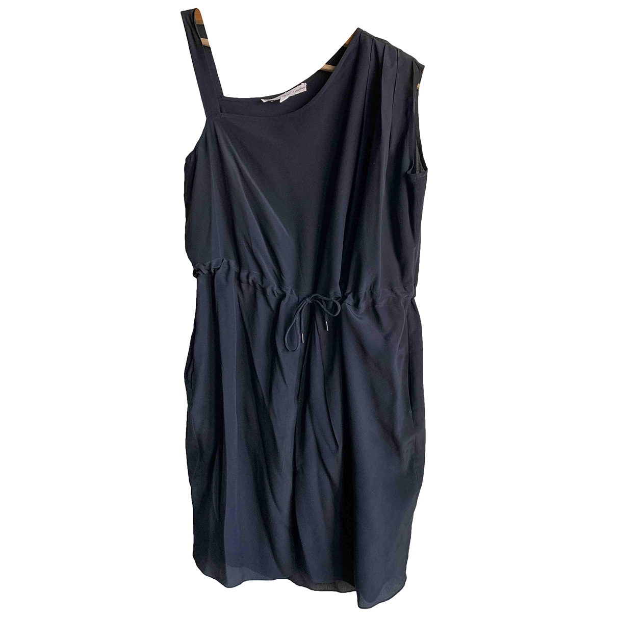 & Stories \N Black Silk dress for Women 36 FR