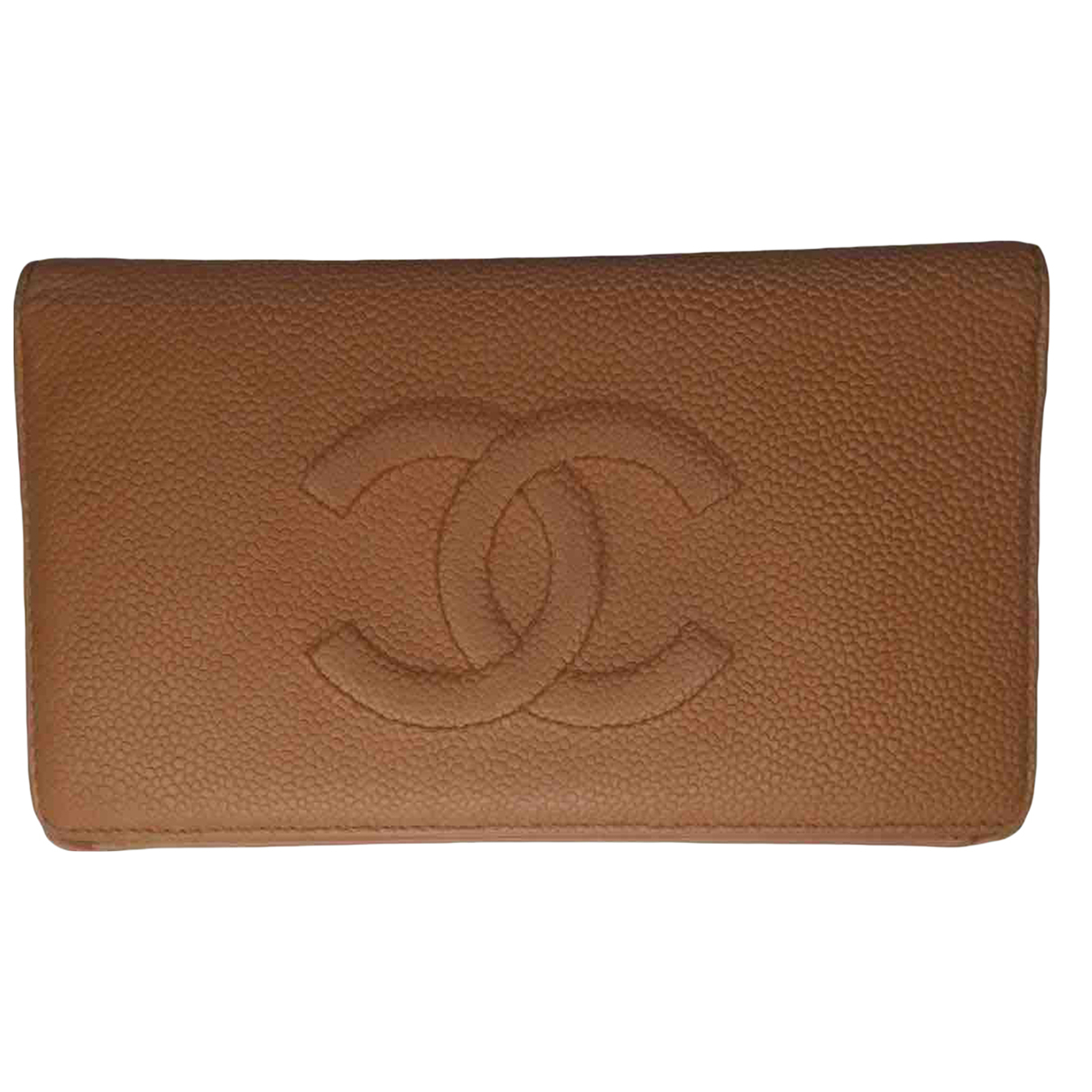 Chanel N Camel Leather wallet for Women N