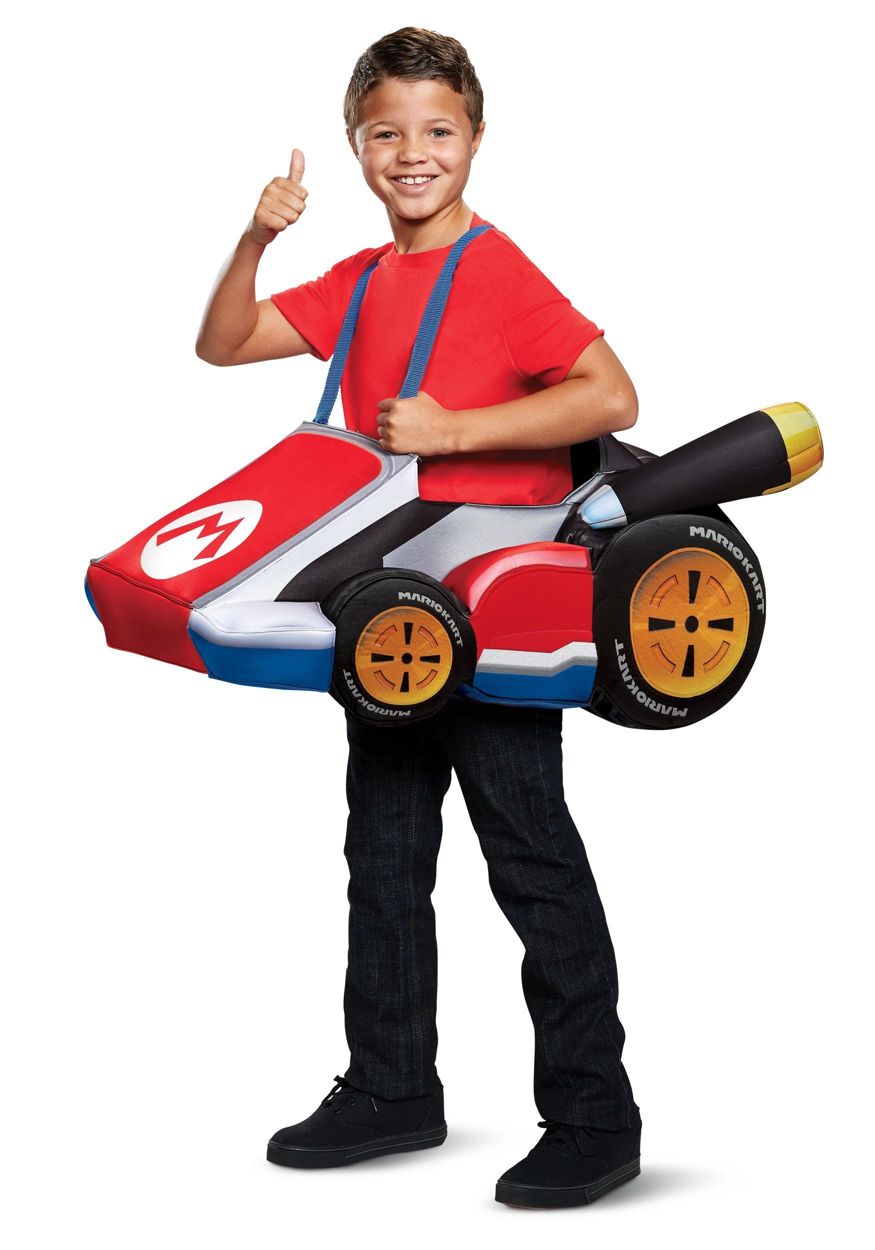 Super Mario Kart Child Mario Ride In
