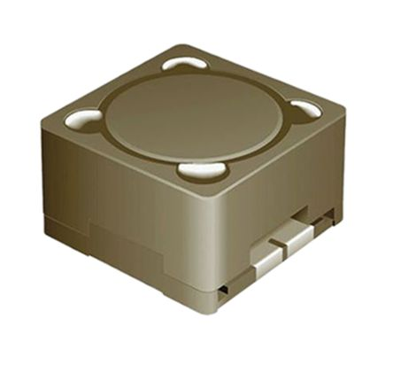Bourns , SRR1208, E6 Shielded Wire-wound SMD Inductor with a Ferrite DR & RI Core, 3.3 mH Wire-Wound 350mA Idc Q:20 (5)