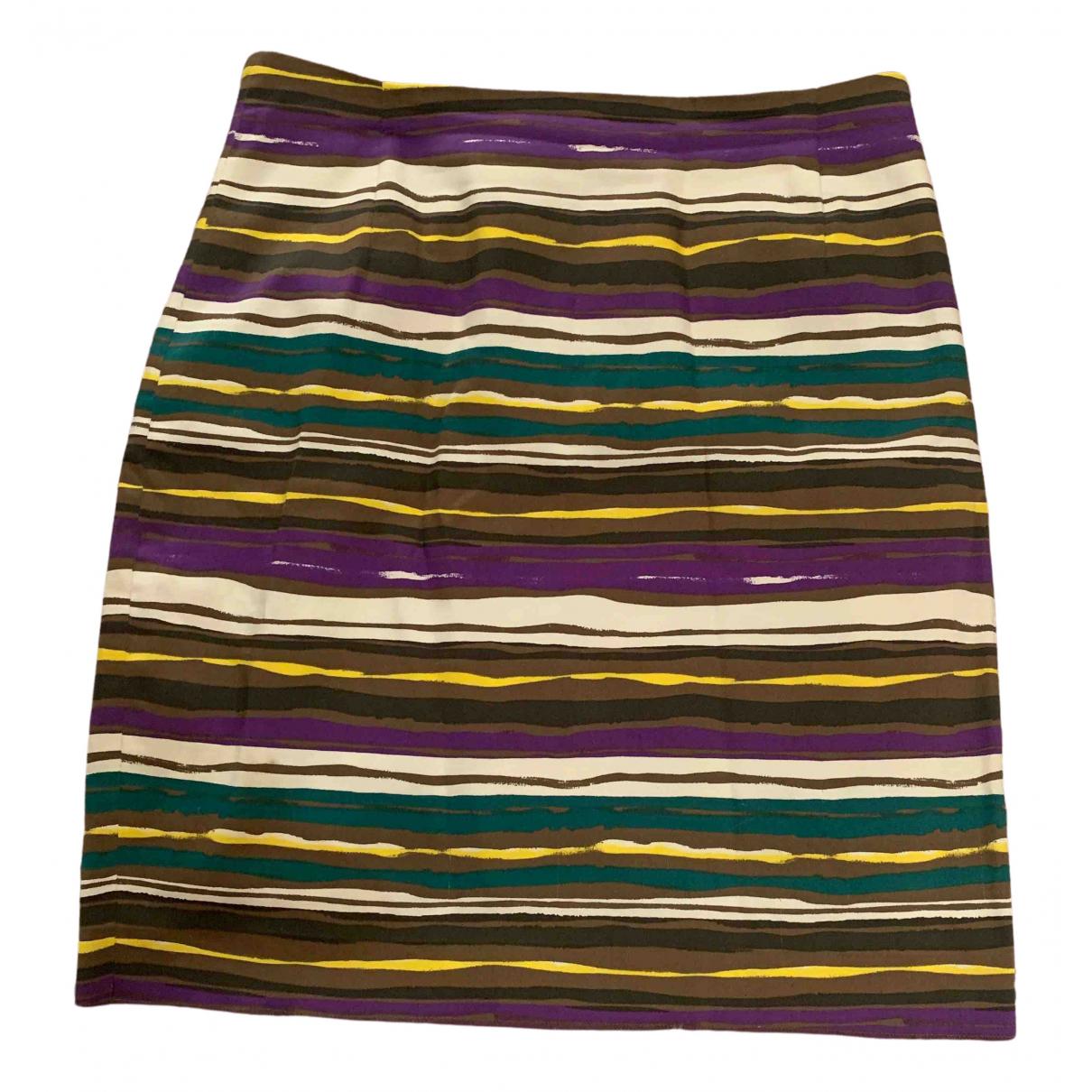 Max Mara Studio \N Multicolour Cotton skirt for Women M International