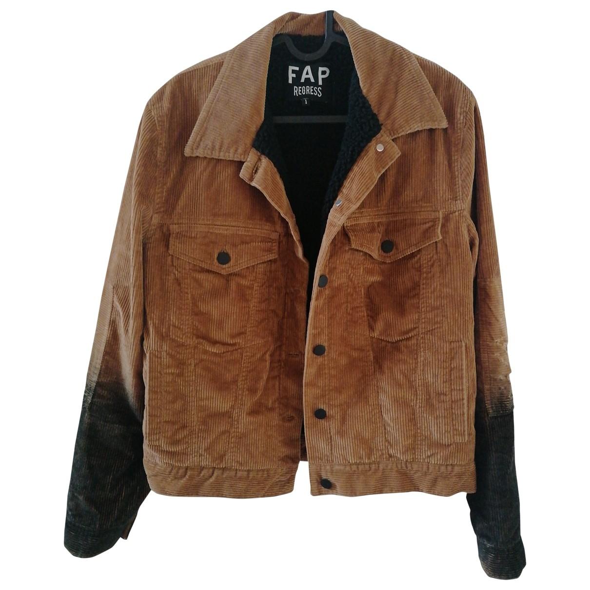 Filles À Papa \N Camel Velvet jacket for Women 1 0-5