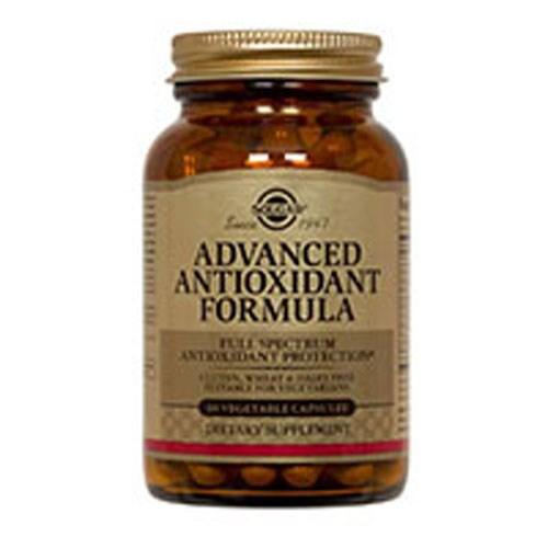 Advanced Antioxidant Formula Vegetable Capsules 120 V Caps by Solgar