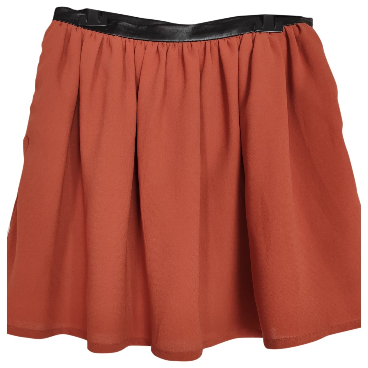 Non Signé / Unsigned \N Orange skirt for Women 40 FR