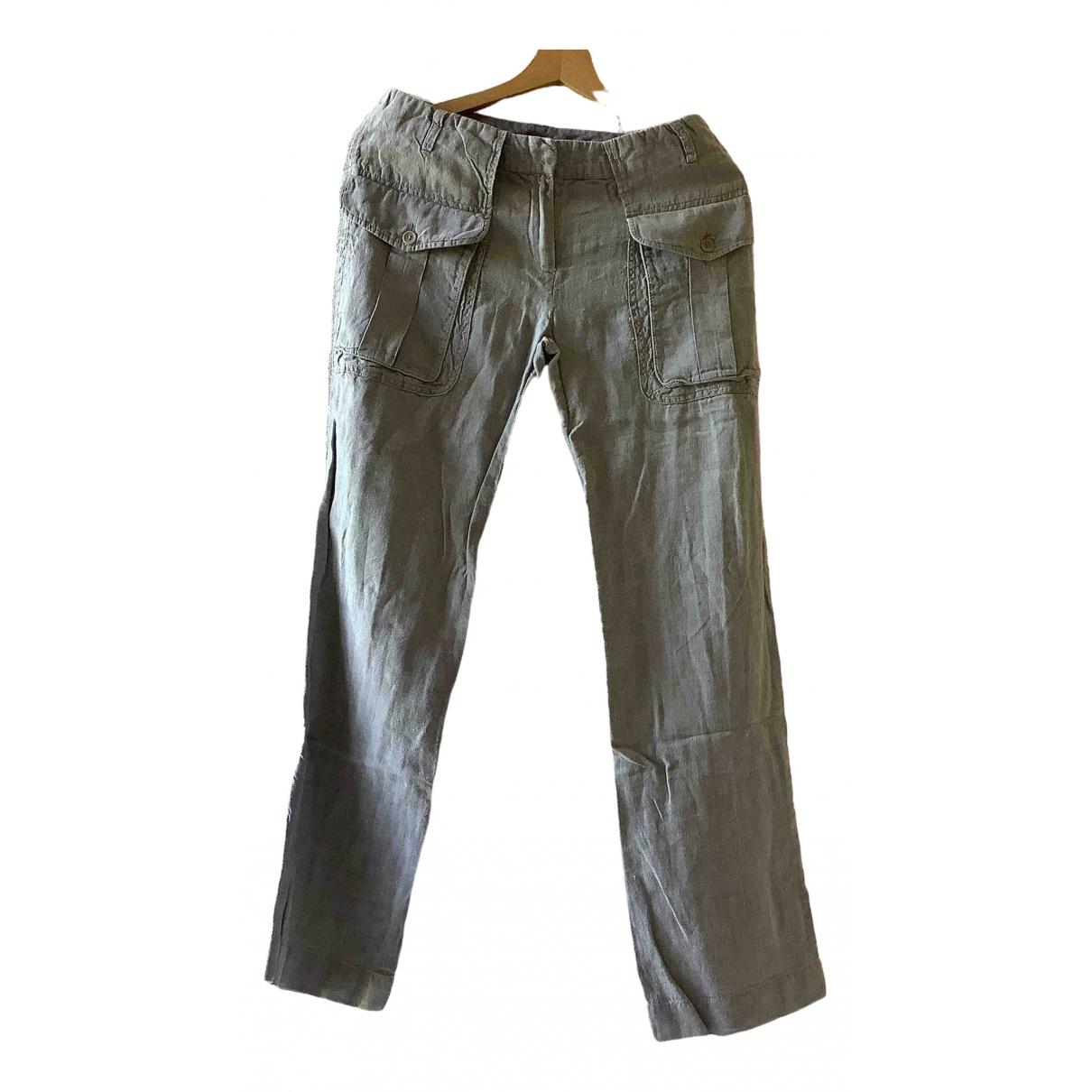 Pantalon largo de Lino Aspesi