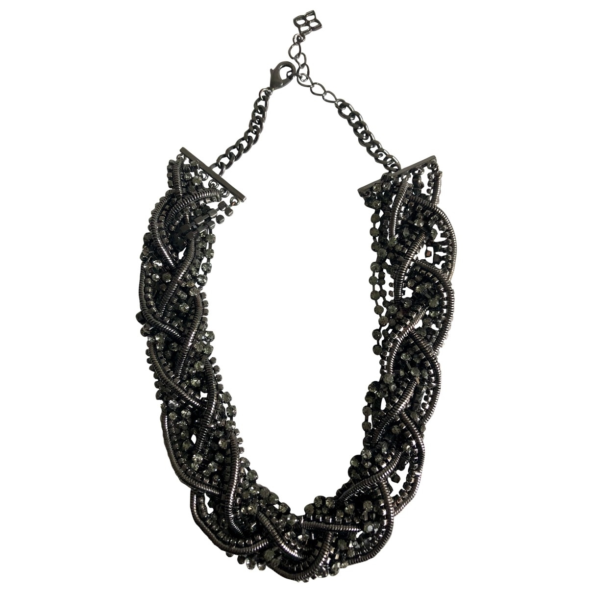 Bcbg Max Azria \N Anthracite Metal necklace for Women \N