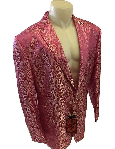 Alberto Nardoni Pink Mens Blazer Wholesale price 95 20PC&UPMinimum