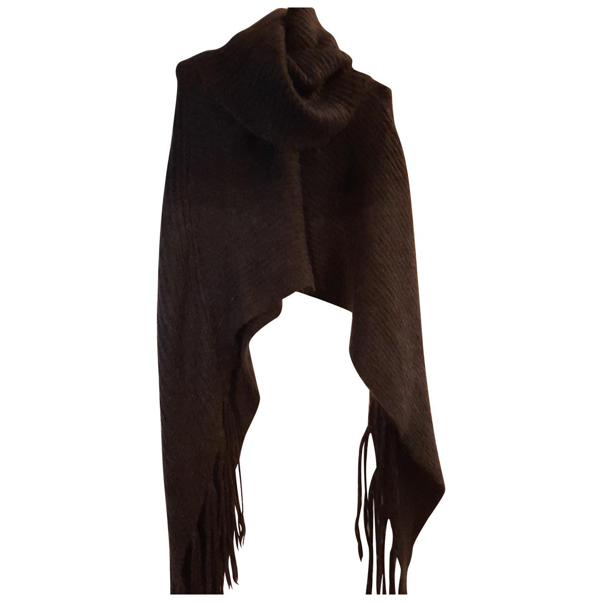 Dixie - Foulard   pour femme en laine - gris