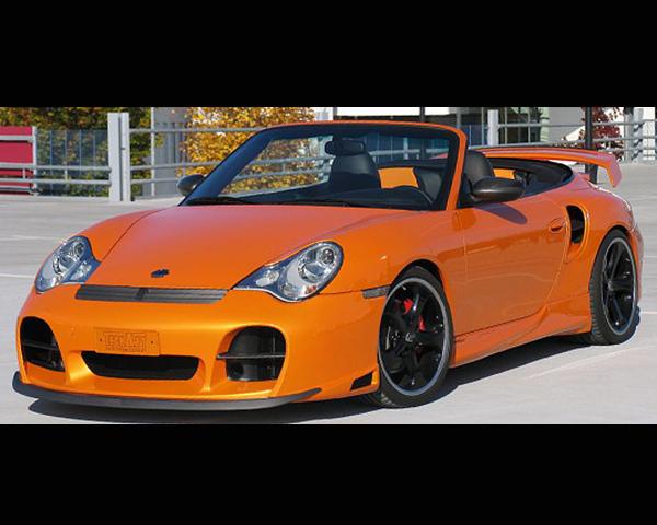 TechArt 096.100.186.009C Carbon Fiber Splitter for GTS Type 2 Front Spoiler Porsche 996 Turbo   GT2 01-05