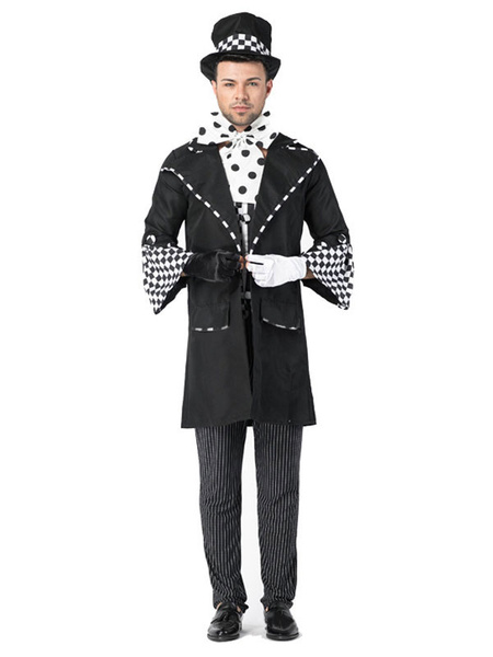 Milanoo Halloween Magician Costumes Adult Outfit