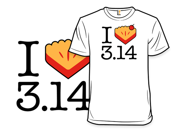 I Heart Pi(e) T Shirt